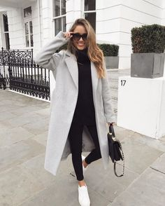 Lieblings schicke und elegante Thanksgiving-Outfit-Ideen – Mode # … - My CMS Winter Outfits For Teen Girls, Simple Winter Outfits, Winter Mode Outfits, Chill Outfits, Winter Fashion Outfits, Cute Casual Outfits, Look Fashion, Fashion Ideas, Fashion Coat