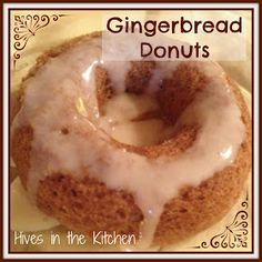 Hives in the Kitchen: Allergy Free Gingerbread Donuts