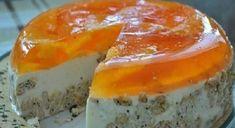 Nepečená pomarančová torta