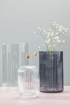 Noord vase - Vaser og krukker - Skeidar Flower Vases, Flowers, Glass Vase, Home Decor, Decoration Home, Room Decor, Vase, Royal Icing Flowers, Home Interior Design