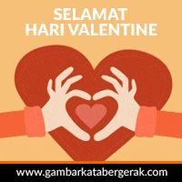 dp animasi valentine day