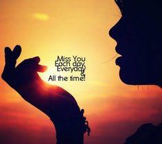 Zoveel, ik wist niet dat je iemand zo kan missen!