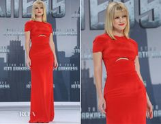 Alice Eve In Emilio Pucci - Star Trek Into Darkness Berlin Premiere