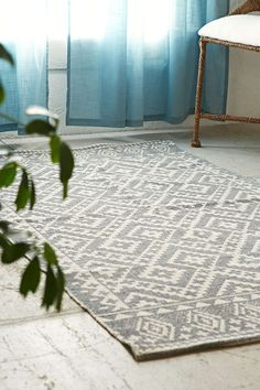 Magical Thinking Tahoe Geo Printed Rug - Urban Outfitters