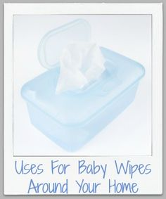 Uses for baby wipes for cleaning and stain removal throughout your home.