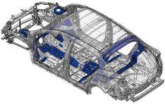 2016 Toyota Prius Body Structure