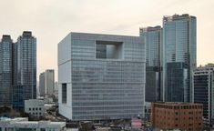 David Chipperfield's cubic Amorepacific headquarters are inaugurated in Seoul