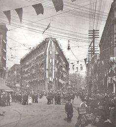 Pioneer Square - Seattle 1909