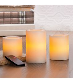 Flameless Candles Costco Entrancing 4 Inch Flameless Supreme Quality Pillar Candle With Timer  White 2018