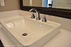 Ordinaire KOHLER | K 2660 1 0 | Vox® Rectangle Vessel Above Counter Bathroom Sink  With Single Faucet Hole | Bathroom Remodel | Pinterest | Faucet, Sinks And  Bathroom ...
