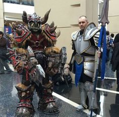 Lok'tar Ogar! This Orc Cosplay Is Amazing