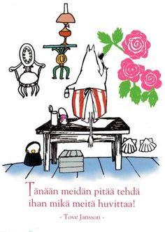 Muumi-mamma tekee mitä huvittaa - Perromania - pieni postikorttikauppa - Tuotteet