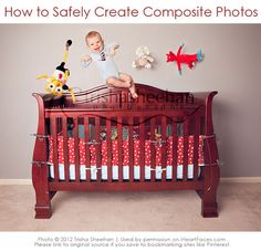 Learn how to safely create whimsical photos of your baby! via @iHeartFaces #photography