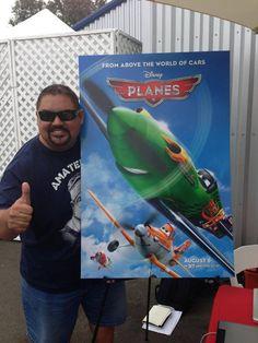 """El talentoso Gabriel Iglesias nos compartió esta mañana su participación en la cinta #Planes , en la cual lo escucharemos en las voces de """"Ned"""" y """"Zed""""#Planes #ArribaPlanes"""