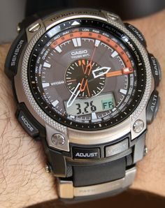 Casio Pathfinder PAW-5000 Watch Review Wrist Time Reviews