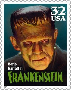 us postage stamps universal monsters - Google Search