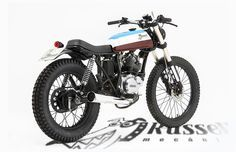 Yamaha SR125 by Russell Pauspecial 7