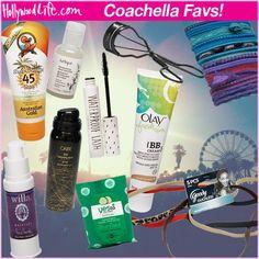 Coachella Beauty products  #coachella #coachellabeauty #coachella2014