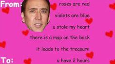 Nicholas. Cage Valentine