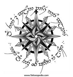 Nautical Compass Tattoos