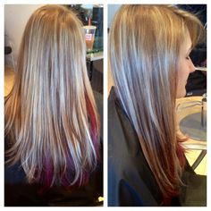 hot heads hair extensions! adds length and thickness