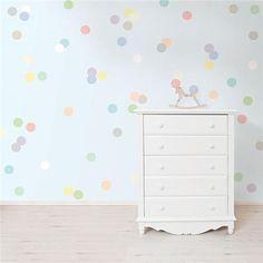 Pastel Confetti MiniPops - Confetti Wall Decals