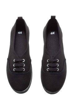 Sneakers: Sneaker in tela con lacci davanti. Suola in gomma.