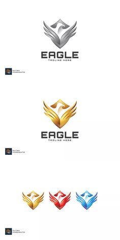 Eagle Shield - Logo Template AI, EPS. Download