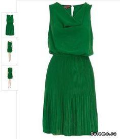 Платье зеленого цвета купить