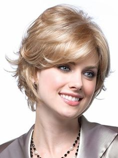 MARIAN Fashion Synthetic Hair Short Hairstyles Wigs for Women with a Wig Cap ... by Marian -- Awesome products selected by Anna Churchill