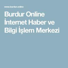 Burdur Online İnternet Haber ve Bilgi İşlem Merkezi