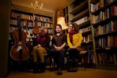 WordTheatre's goal is to inspire by giving voice to great literature through live performances.  The Bookshop Band, created in 2010, does similar, but through song. Formed by a group of singer-songwriter friends in collaboration with their local bookshop, Mr. B's Emporium of Reading Delights in Bath, UK, the Bookshop Band provides a fresh way to promote books: by writing and performing songs inspired by them. Love it. Check out their website: http://www.thebookshopband.co.uk/