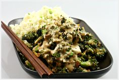 raw food recipe broccoli hoisini sauce