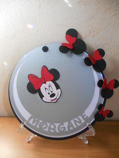 faire-part Minnie assortie à celui de Mickey ;) !