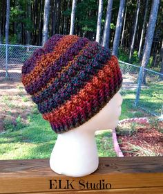 Christmas Present Worsted Weight Project #2 hat free crochet pattern