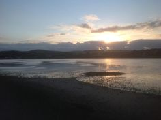 Twitter / cwpbirder: Sunset over the Hayle Estuary, ...