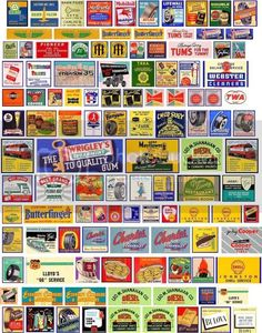 Ho Scale Train Layout, Model Train Layouts, Vintage Menu, Vintage Labels, Vintage Ads, Real Model, Train Pictures, Historical Artifacts, Old Signs