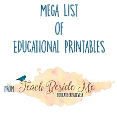 I have created a lot of free printables and resources that I have made available for all of you on my site. I have finally collected them into one spot by topic for your convenience.  I hope you will find something among these free printables that you can use. Most are FREE, however, if there …
