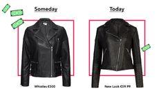 Leather Jacket, Blog, Jackets, Shopping, Fashion, Studded Leather Jacket, Down Jackets, Moda, Leather Jackets