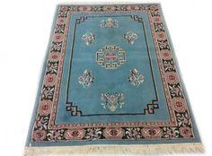 Blauw Oosters Tapijt 120 x 165 cm