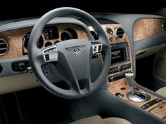 Most Amazing Cars, Bentley Continental GT Speed interior.