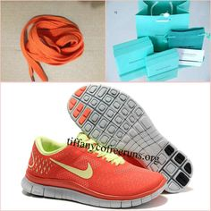 Womens Nike Free 4.0 V2 Red Yellow Running Shoes $ 49.99