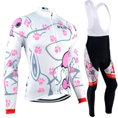 BXIO Pro Team Cycling Clothes Winter Thermal Fleece Bicycle Clothing Ropa  Ciclismo Maillot Mujer Bicycle Clothing BX-0108W021 43818efb6