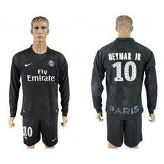 PSG Neymar Jr 10 Kolmaspaita 17-18 Pitkähihainen Neymar Jr, Psg, Paris Saint, Saint Germain, Manchester United, Barcelona, Graphic Sweatshirt, Sweatshirts, Sports