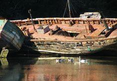 Boat, Boats, Old Ships, Wrecks, Brittany, Sea #boat, #boats, #oldships, #wrecks, #brittany, #sea