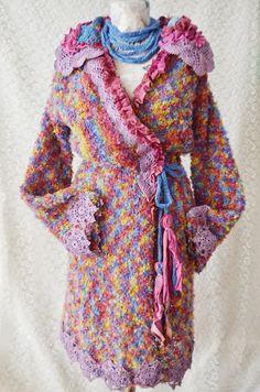 Cardigan tricotat cu aplicatii My Beautiful Life (450 LEI la irinaindira.breslo.ro)