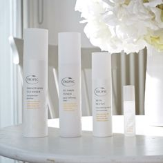 ABC collection contains: Smoothing Cleanser and #organic #bamboo cloth, Vitamin Toner, Skin Revive Nourishing Cream Concentrate, Eye Refresh Cooling Gel Roll On. £52. 100% naturally derived, packed full of powerful #antioxidants and #vitamins #vegan #crueltyfree #madeinbritain #naturalskincare #purehonesteffective #parabenfree #sensitiveskin #veganskincare #tropic #tropicskincare