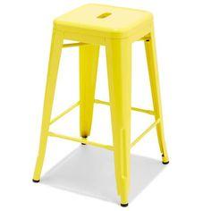 Yellow Metal Bar Stool | Kmart