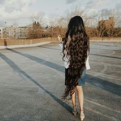 Gorgeous hair Long Black Hair, Very Long Hair, Beautiful Long Hair, Gorgeous Hair, My Hairstyle, Cool Hairstyles, Pentecostal Hairstyles, Natural Hair Styles, Long Hair Styles
