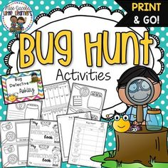 Bug Hunt: ActivitiesThese bug hunt activities will provide your students with tasks to complete whilst on their bug hunt!